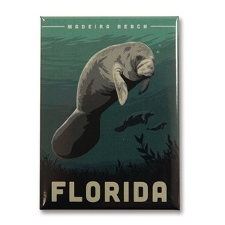 FLMB Manatee Magnet | American made magnets