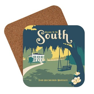 The South | American Made Coaster