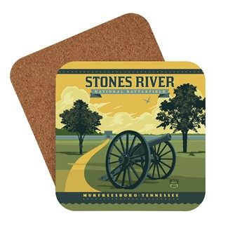Stones River National Battlefield | American made coaster