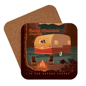 Rocky Mountain National Park Camping is for Nature Lovers | American made coaster
