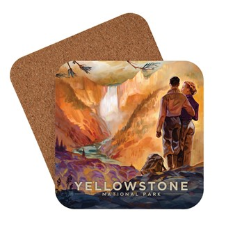 Yellowstone Falls|| American made coaster