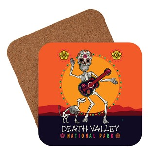 Death Valley Skeleton | American made coaster