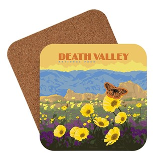 Death Valley Wildflowers | American made coaster