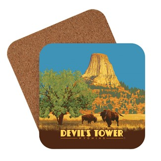 Devil's Tower, WY Coaster | Made in the USA