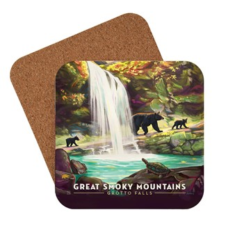 Great Smoky Grotto Falls | American Made Coaster