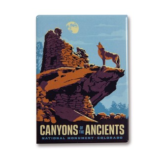 Canyons of the Ancients Magnet | Made in the USA