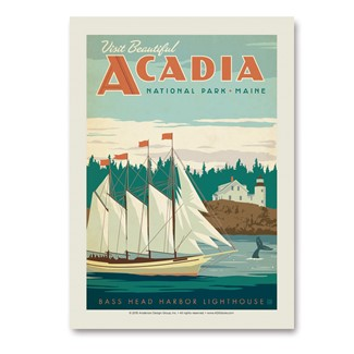 Acadia | Vertical Sticker