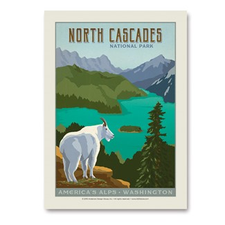 North Cascades | Vertical Sticker