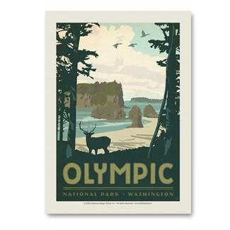Olympic | Vertical Sticker
