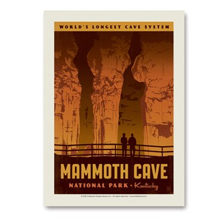 Mammoth Cave | Vertical Sticker