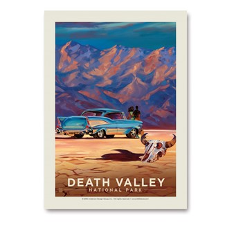 Death Valley Living It Up | Vertical Sticker