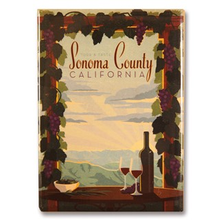Sonoma County | Metal Magnet