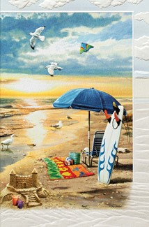 Summer Day Off | Beach greeting cards