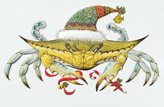 Blue Crab Christmas | Made in the USA