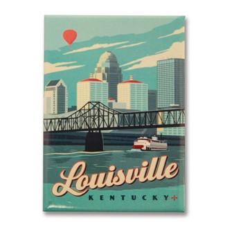 Lousiville, KY Magnet | Made in the USA