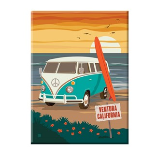 Ventura, CA Locals Only Magnet | Made in the USA