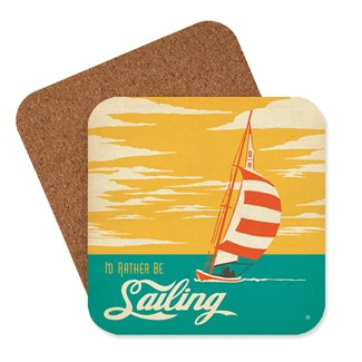 Rather be Sailing Coaster | American Made Coaster