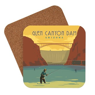 Glen Canyon Dam, AZ Coaster | American Made Coaster