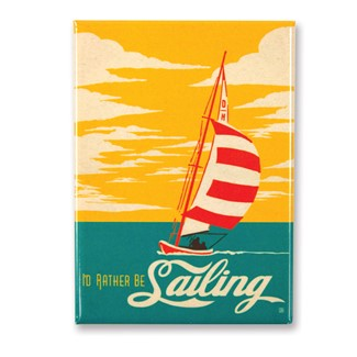Rather Be Sailing Magnet| American Made Magnet