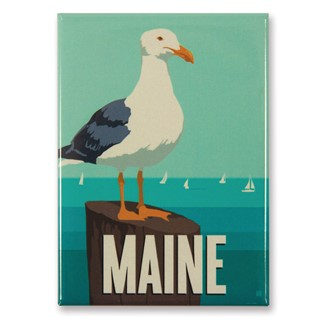 ME Gull Magnet | American Made Magnet