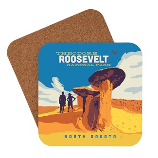 Theodore Roosevelt Coaster | American made coaster