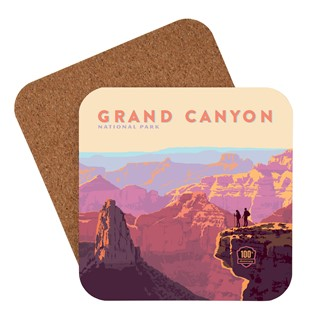 Grand Canyon 100th Anniversary Coaster | American made coaster