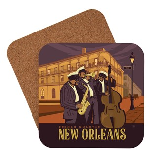 New Orleans French Quarter Coaster | American made coaster