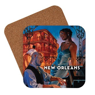 New Orleans Jazz Coaster | American made coaster