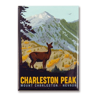 Charleston Peak Magnet | Made in the USA