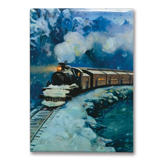 Great Smoky Little River Railroad Magnet | Metal Magnet