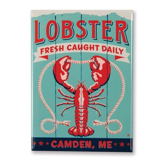 ME Lobster Camden Magnet | Made in the USA