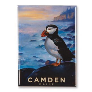 ME Camden Puffin Magnet | Made in the USA