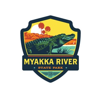 Myakka River State Emblem Sticker | American Made
