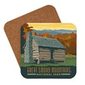 Great Smoky Cabin Coaster