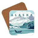 AK Inside Passage Orca Coaster