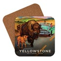 Yellowstone Bison Crossing Coaster