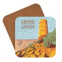 Grand Canyon Desert View Watchtower Coaster