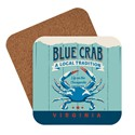 Virginia Blue Crab Coaster