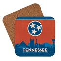 State Flag Cities of Tennessee Coaster