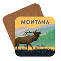 Montana Elk Big Sky Country Coaster