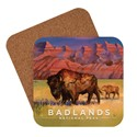 Badlands NP Living the Good Life Coaster