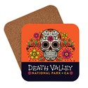 Death Valley Skeleton Emblem Coaster