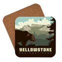 Yellowstone Brown Bear Coaster