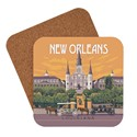New Orleans St. Louis Cathedral Coaster