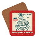 ME Boothbay Harbor Seas the Day Coaster