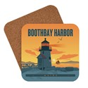 ME Boothbay Harbor Lighthouse Coaster