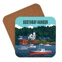 ME Boothbay Harbor Vacationland Coaster