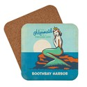 ME Boothbay Harbor Mermaid Queen Coaster