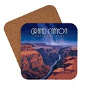 Grand Canyon Starry Landscape Coaster