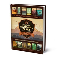 National Parks 100th Anniversary Hard Cover Book